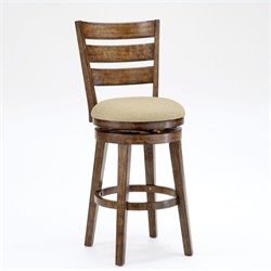 MER-1184 Swivel Bar Stool in Chestnut
