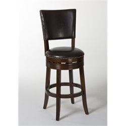 MER-1184 Swivel Bar Stool in Brown Cherry 2