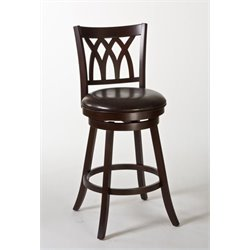 MER-1184 Swivel Bar Stool in Cherry