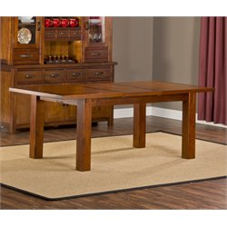 Bowery Hill Extendable Dining Table in Chestnut