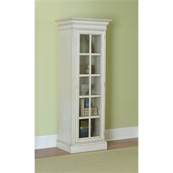 MER-1184 Curio Cabinet in Old White