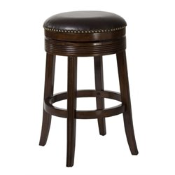 MER-1184 Swivel Bar Stool in Brown Cherry 3