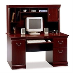 Bowery Hill Computer Desk with Hutch