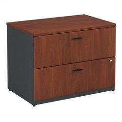 Bowery Hill 2 Drawer Lateral File in Hansen Cherry