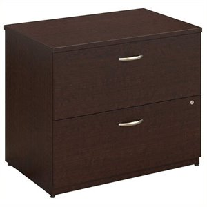 Bowery Hill 2 Drawer Lateral File in Mocha Cherry