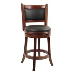 MER-1176 Swivel Bar Stool in Cherry 1
