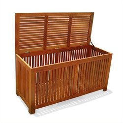 Bowery Hill Patio Wood Storage Box
