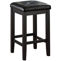 MER-1176 Square Bar Stool in Black