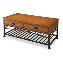 Bowery Hill Coffee Table in Distressed Oak