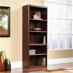 Bowery Hill Library Bookcase in Classic Cherry