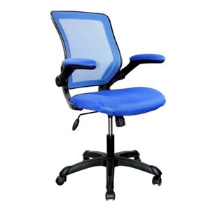 Bowery Hill Mesh Task Office Chair in Blue