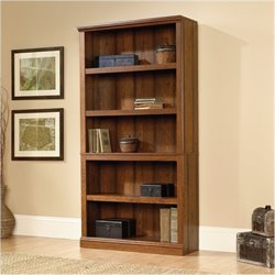 Bowery Hill 5 Shelf Bookcase in Washington Cherry