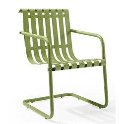 Bowery Hill Patio Chair in Oasis Green