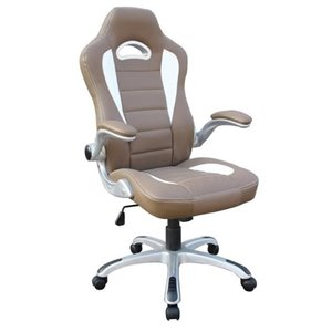 Bowery Hill Executive Office Chair in Camel