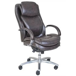 Bowery Hill Executive Office Chair in Brown
