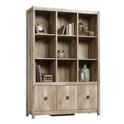 Bowery Hill 9 Cubby Bookcase in Lintel Oak