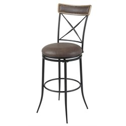MER-1176 Bar Stool in Charcoal