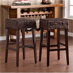 MER-1176 Woven Bar Stool in Brown