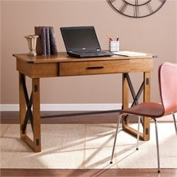 Bowery Hill Adjustable Writing Desk in Glazed Pine