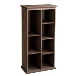 MER-1176 Bookcase in Burnt Oak