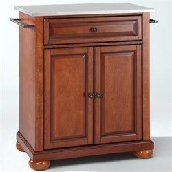 MER-1176 Kitchen Island in Cherry