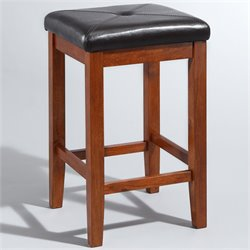 MER-1176 Square Bar Stool in Cherry