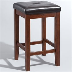MER-1176 Square Bar Stool in Mahogany