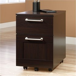 Bowery Hill Mobile File Cabinet in Jamocha Wood