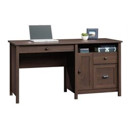 Bowery Hill Computer Desk in Rum Walnut