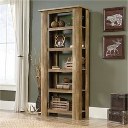 MER-1176 Bookcase in Craftsman Oak 1