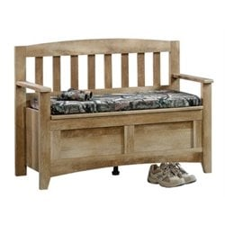 Bowery Hill Storage Bench in Craftsman Oak