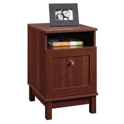 Bowery Hill End Table with File Drawer in Cherry