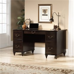 Bowery Hill Home Office Desk in Jamocha Wood