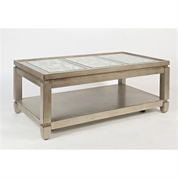 Bowery Hill Coffee Table in Vintage Silver
