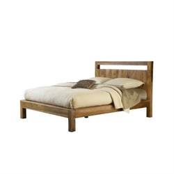 Bowery Hill Platform Bed in Natural Sheesham 382214 -1397