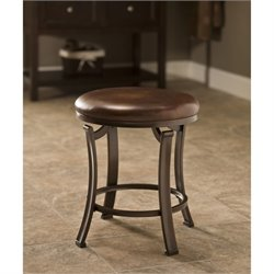 Bowery Hill Vanity Stool in Antique Bronze