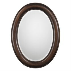 Bowery Hill Mandie Oval Mirror in Bronze