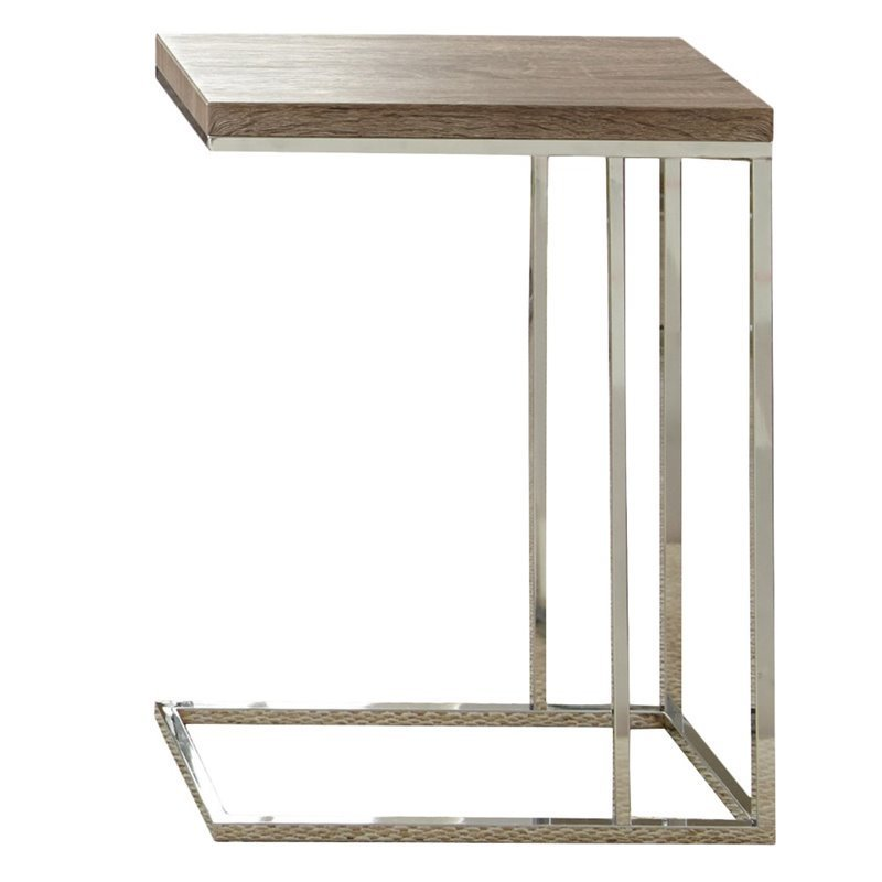 Bowery Hill Chairside End Table in Brown
