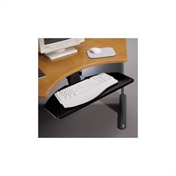 Pemberly Row Articulating Keyboard Tray in Galaxy