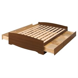 Pemberly Row Queen Platform Storage Bed