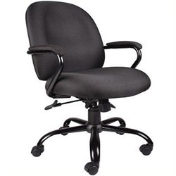 Pemberly Row Big and Tall Arm Office Chair