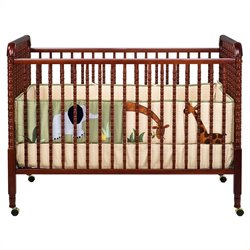 Pemberly Row 3-in-1 Convertible Crib in Cherry