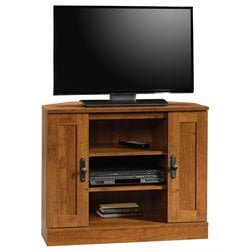 Pemberly Row Corner TV Stand