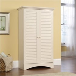 Pemberly Row Storage Cabinet in Antiqued White