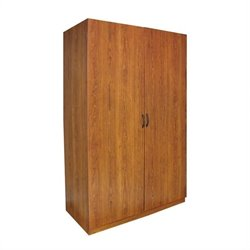 Pemberly Row Wardrobe in American Cherry