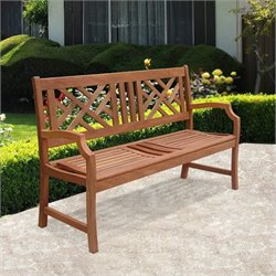 Pemberly Row 2-Seater Atlantic Bench