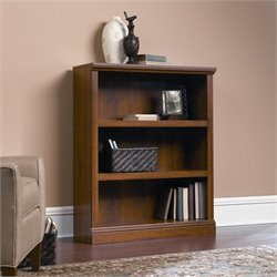 Pemberly Row 3 Shelf Bookcase in Abbey Oak