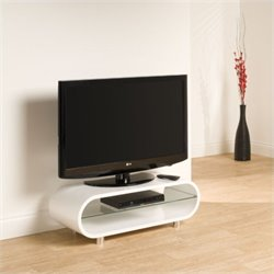 Pemberly Row TV Stand White