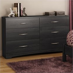 Pemberly Row Dresser in Gray Oak