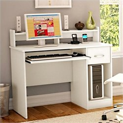Pemberly Row Desk in Pure White